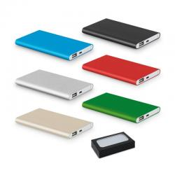 Carregador Power Bank Bateria 4400mAh Portatil Personalizado