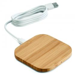 Power Bank Carregador wireless Bambu
